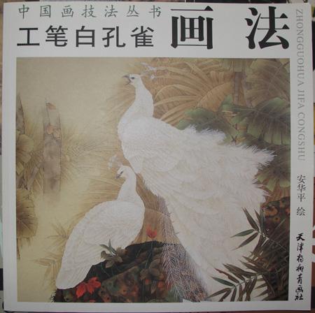 工笔白孔雀画法 -海南省中山书画院图片